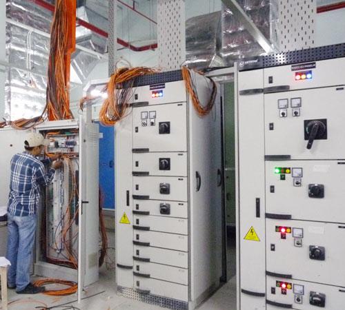 thi công hệ thống điện nhà cao tầng
