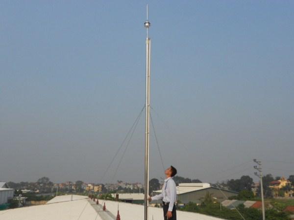 Lắp đặt thi công hệ thống chống sét công trình tại Bình Dương