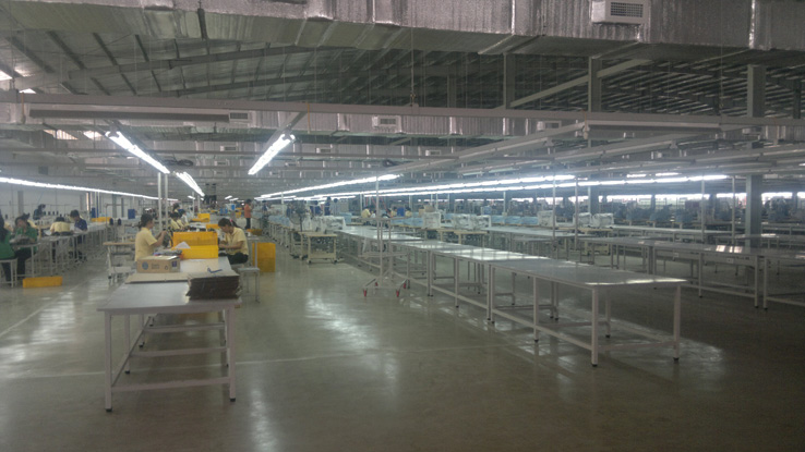 Lắp đặt thi công điện nhà xưởng cho xưởng may