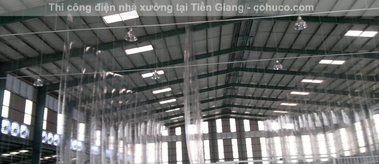 Thi công điện nhà xưởng tại Tiền Giang1
