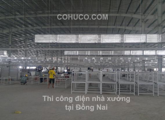 Lắp đặt thiết kế hệ thống điện nhà xưởng nhà máy an toàn