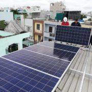 điện năng lượng mặt trời gia đình