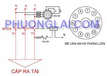 relay bao ve mat pha